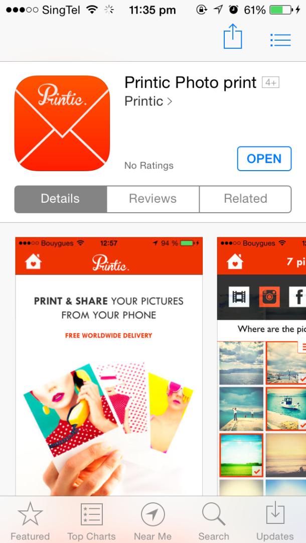 Printic App Itunes Blog Review
