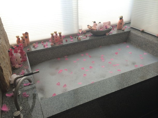 Shiseido Bloggers Appreciation Party Bath