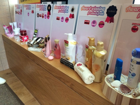 Shiseido Bloggers Appreciation Party Products
