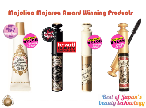 Shiseido Brands Winning Products 2014 2