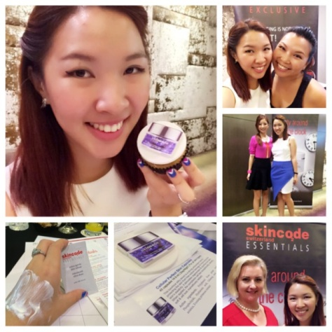 Skincode Singapore Blogger Event Ena Teo Instagram