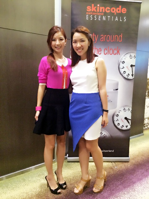 Skincode Singapore Blogger Event with Karen of Renzze