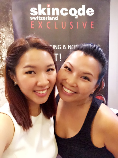 Skincode Singapore Blogger Event with Katjuju