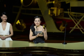 """Congratulations to Singapore's Yeo Yann Yann for bagging award at """"The Oscars of Asia"""" – 8th Asian FilmAwards"""