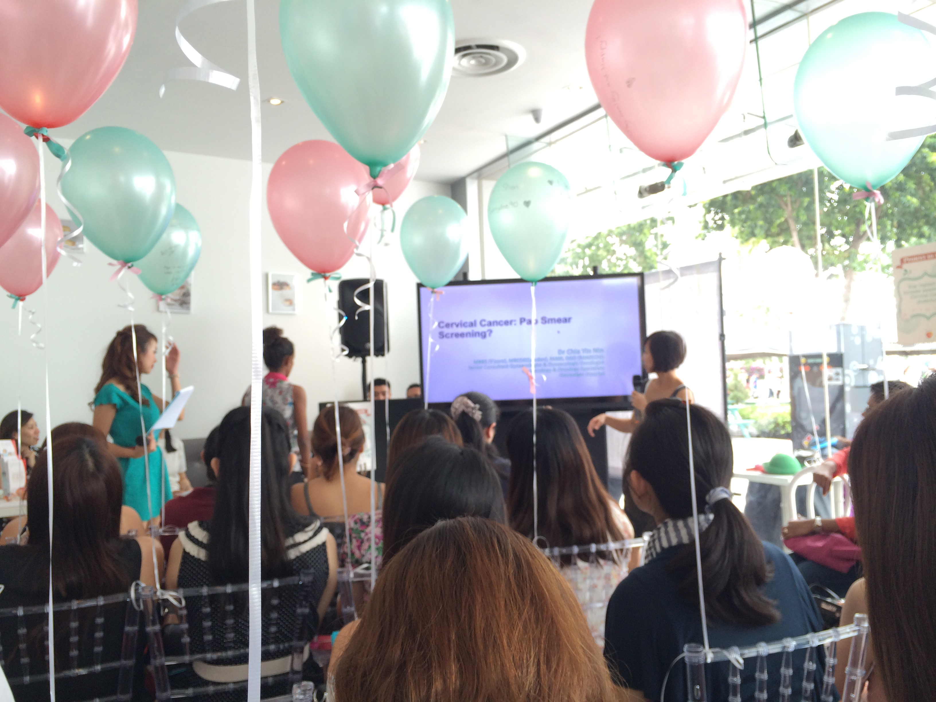 Busting Myths about Cervical Cancer & Tea @ Lady M Singapore | Ena