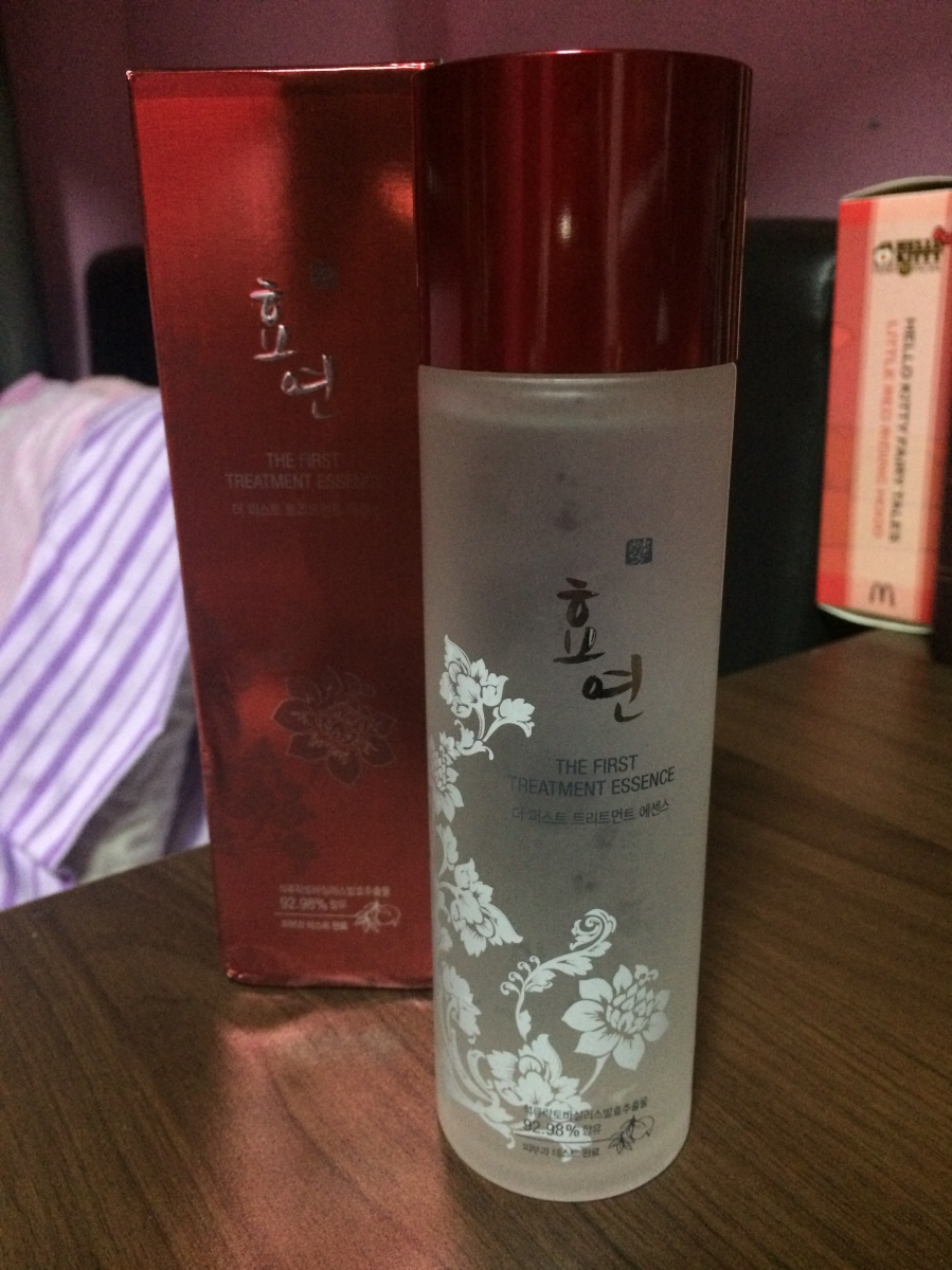 MyLuvMe.com & Hyo Yeon The First Treatment Essence Review
