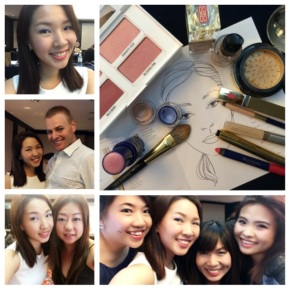Your Perfect Shade Workshop with Elizabeth Arden featuring Summer Escape Colour Collection2014