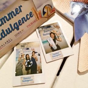 Summer Indulgence with Aqualabel, Senka & Tsubaki @ CoastesSentosa