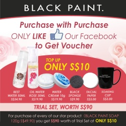 Redeem Black Paint Voucher